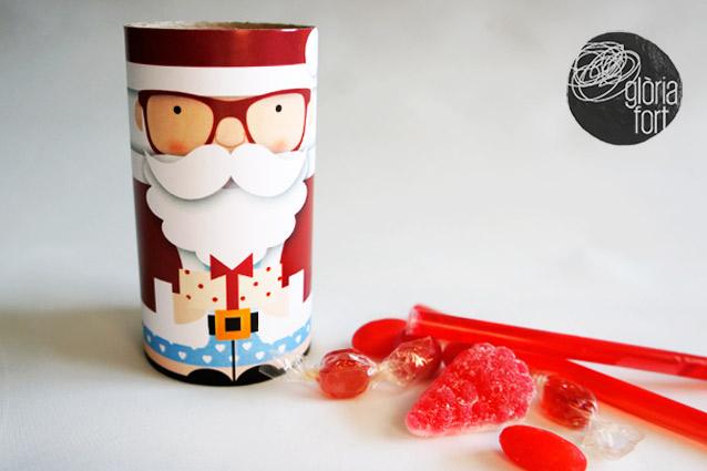Santa Claus Vector by Gloria Fort