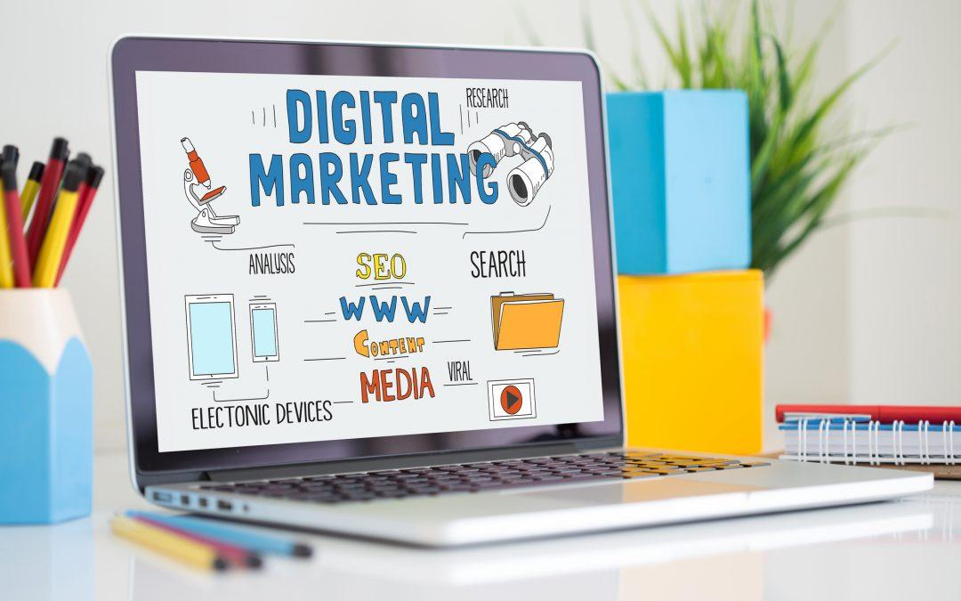 WEB ONLINE INTERNET TECHNOLOGY AND DIGITAL MARKETING CONCEPT