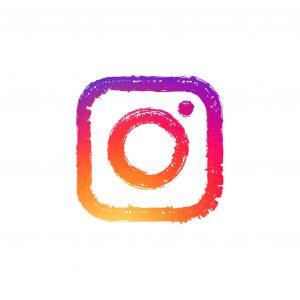 Sketch Instagram modern camera logo with gradient