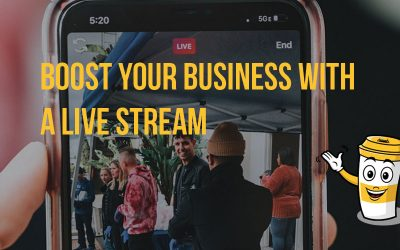 Boost your business with a live stream